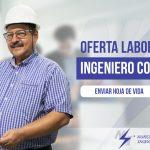 Oferta Laboral. Ingeniero Comercial