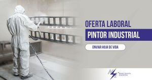 Oferta Laboral. Pintor Industrial